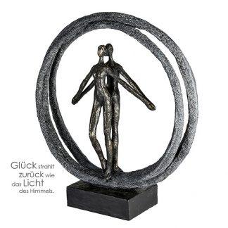 Skulptur Paar Im Ring Casablanca H 40 Cm 324x324