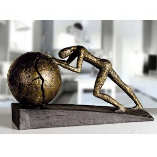 Design Skulptur HEAVY BALL Casablanca H 21,0 cm