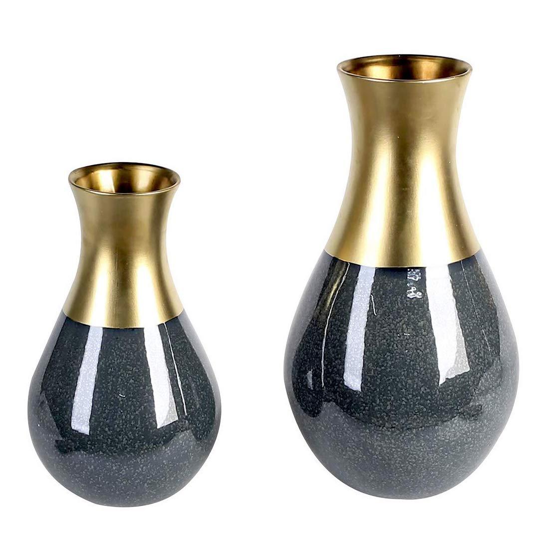 Vase Opulent Casablanca Dunkelblau H 45 35 Cm 1