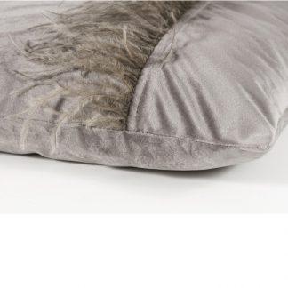 Dekokissen Magma Ostrich Mittelgrau 30x50 Cm 1 324x324