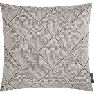 Kissen Magma PURL taupe 50x50 cm