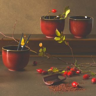 Dessertteller Asa Kolibri Rusty Red 20 Cm 9 324x324
