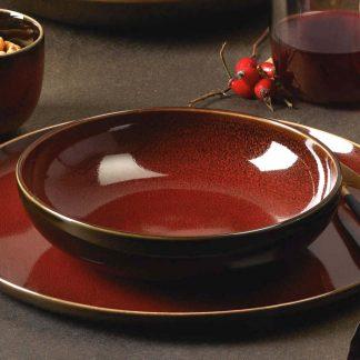 SCHALE ASA Kolibri rusty red ø 18,0 cm