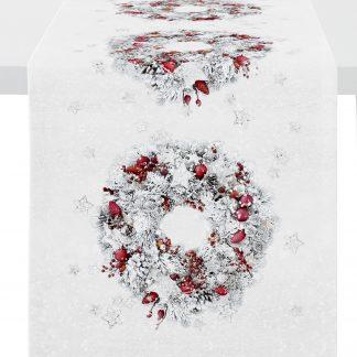 Tischläufer Apelt 1419 WINTERWELT 46x135 cm