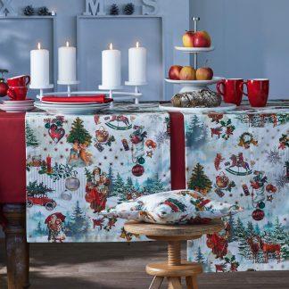 Tischläufer Apelt 1535 WINTERWELT 48x140 cm