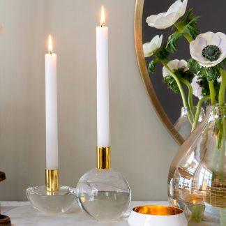 Kerzenhalter DIOPTRICS GiftCompany Kugel | Cabochon ø 10 cm