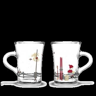 Weihnachts-Hot Drink Glass 2er Set 2019 HOLMEGAARD CHRISTMAS