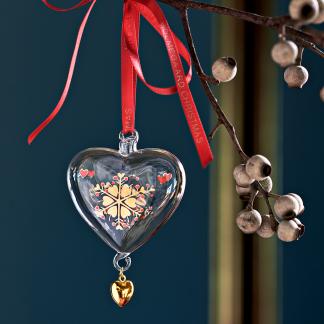 Weihnachtsherz 2019 HOLMEGAARD CHRISTMAS H 8,0 cm