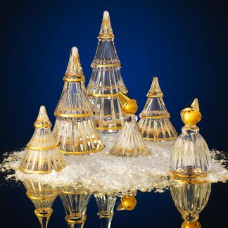 Weihnachtsbaum Fairytales HOLMEGAARD CHRISTMAS H 19,0 | 13,5 cm