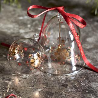 Weihnachtsglocke 2019 HOLMEGAARD CHRISTMAS H 10,5 cm