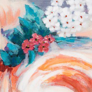 Bild Blossom Casablanca Leinwand Auf Keilrahmen Hochgl Nzend 90x90 Cm 324x324
