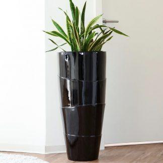 bodenvase-camille-hochglanz-schwarz-h-80-cm