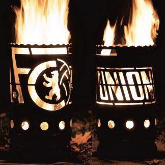 Feuertonne 1. FC UNION BERLIN H 60 cm