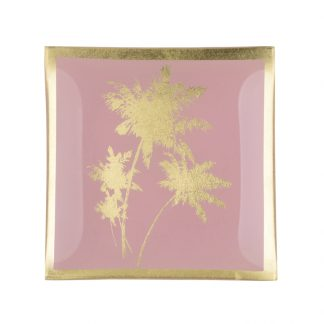 "Glasteller ""PALME"" GiftCompany 10,0x0,8x10,0 cm"