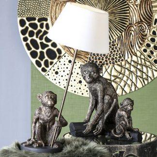 lampe-affe-bronze-mit-antikfinish-casablanca-design-h-60-cm