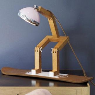 Snowboard für Tischlampe MR. WATTSON PIFFANY Copenhagen aus Eschenholz
