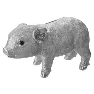 SPARSCHWEIN silber GiftCompany 26,5 cm