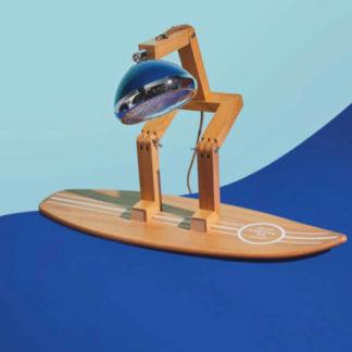 Surfboard für Tischlampe MR. WATTSON Piffany Copenhagen aus Eschenholz