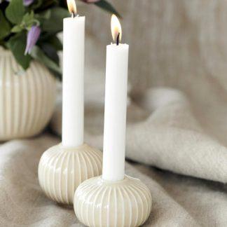 Kerzenständer HAMMERSHOI birch H 6,5 | 5,5 cm