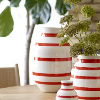 Vase OMAGGIO Kähler scarlet ø 30,5 cm