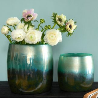 Vasen & Windlicht LINEN GiftCompany Perlmutt