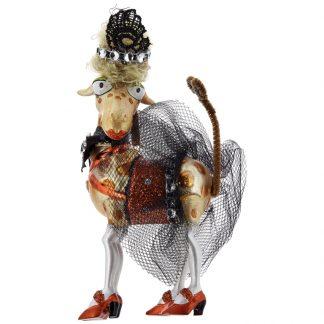 Weihnachtsbaumschmuck GIRAFFE GiftCompany H 15 cm