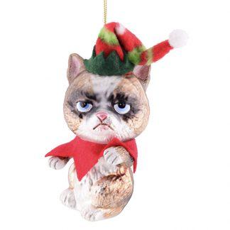 Weihnachtsbaumschmuck GRUMMELKATZE GiftCompany H 14 cm