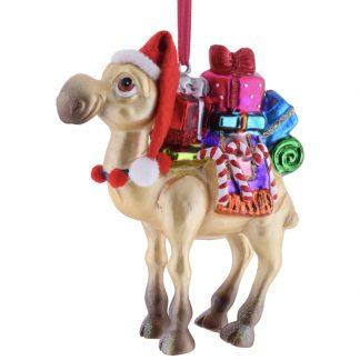 Weihnachtsbaumschmuck KAMEL GiftCompany H 13 cm