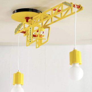 Kinderzimmerlampe ELOBRA Deckenleuchte Turmdrehkran mit MARKUS