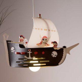 Kinderzimmerlampe ELOBRA Pendelleuchte Piratenschiff mit JACK
