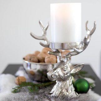 Kerzenständer HIRSCH H 20 cm