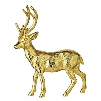 Rentier LASSE Edzard gold H 27 cm