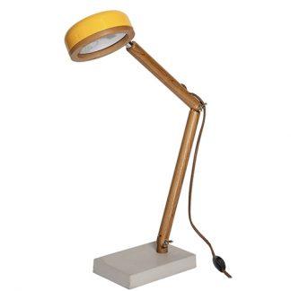Tischlampe HIPP LAMP Piffany Copenhagen Canary Yellow