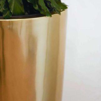 Bodenvase Cecile Hochglanz Gold H 80 Cm 1 324x324