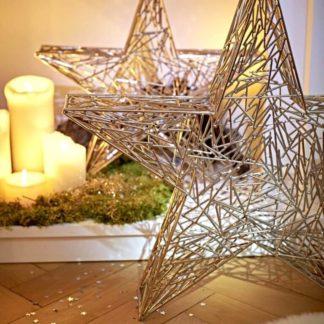 Weihnachtsdeko | Deko STERN Weihnachtsstern Edzard Höhe 47 | 37 cm