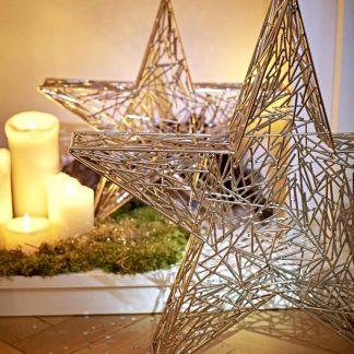 Deko STERN Weihnachtsstern Edzard H 47 | 37 cm