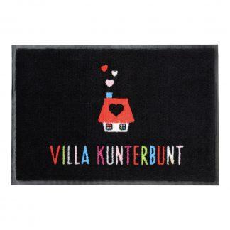 Fußmatte waschbar VILLA KUNTERBUNT GiftCompany 50 x 75 cm