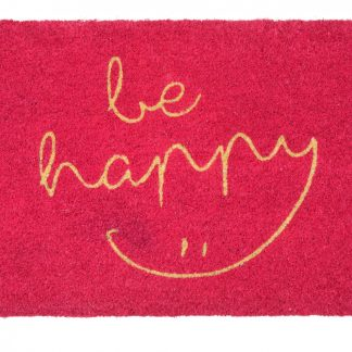 Fussmatte Kokos BE HAPPY GiftCompany 45 x 75 cm