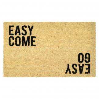 Fußmatte Kokos EASY COME EASY GO GiftCompany 45 x 75 cm