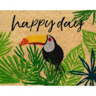 Fussmatte Kokos HAPPY DAY/TUKAN GiftCompany 45 x 75 cm