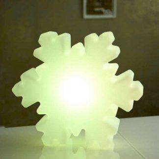 LED Schneeflocke H 37 cm