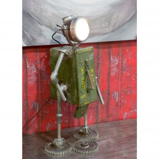 Tischlampe ROBOT Casablancagrün H 72cm