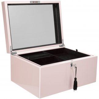 Schmuckkästchen Schmuckbox TANG GiftCompany blush B 31 cm