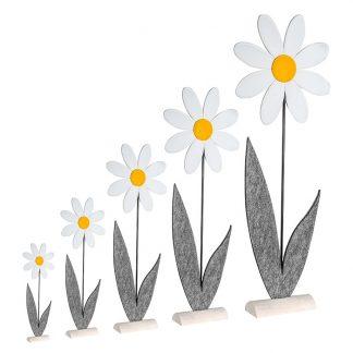 Blume DAISY Casablanca Filz H 34 | 48 | 68 | 88 | 107 cm
