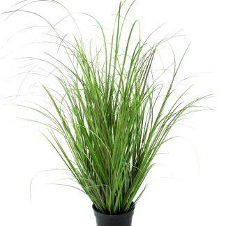 Kunstblume GRAS im Topf H 94 | 61 cm