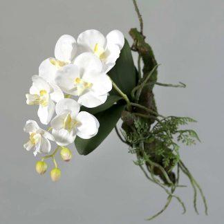 Kunstblume ORCHIDEE AVATAR mit AST zum Hängen H 29 cm