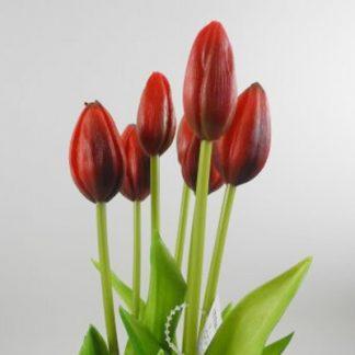 Kunstblume Tulpen B Ndel 7er Set Rot H 43 Cm 4 324x324
