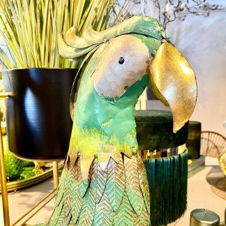 Figur Papagei Pepe Metall H 54 Cm 2 324x324