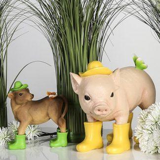 Figur PIG H 24 cm | COW H 24 cm Casablanca