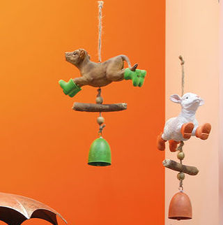 Hänger DONKEY| SHEEP| PIG | COW H 23 cm Casablanca